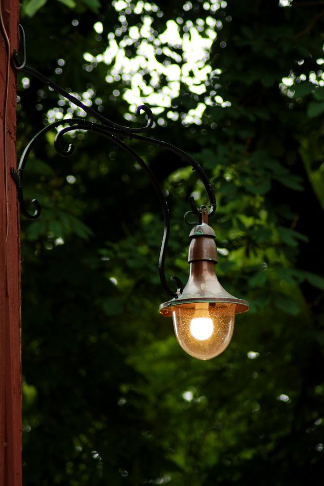 Lampa på Akershus festning