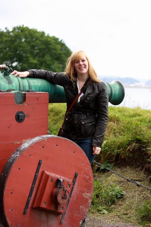 Kanon vid Akershus festning