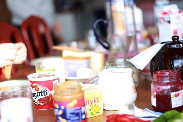 Frukostbord
