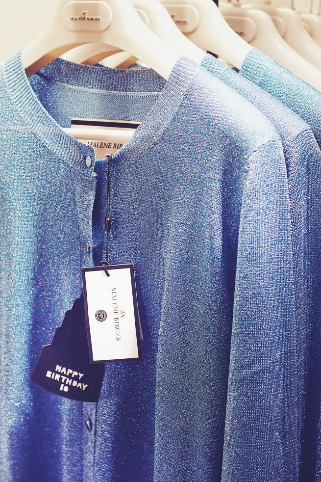Blå Malene Birger