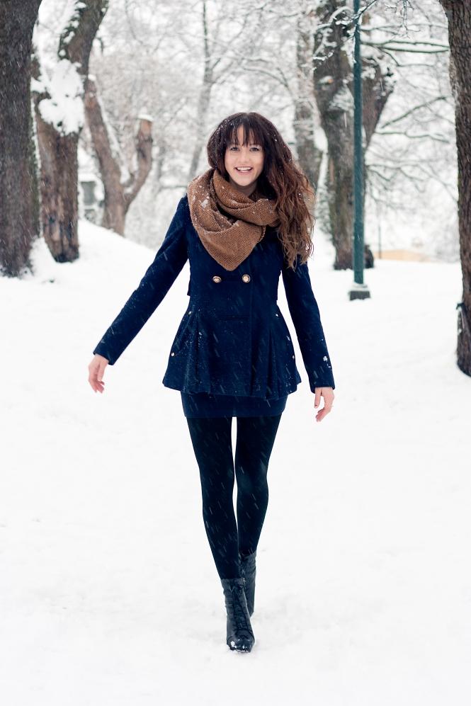 Kristina i snön