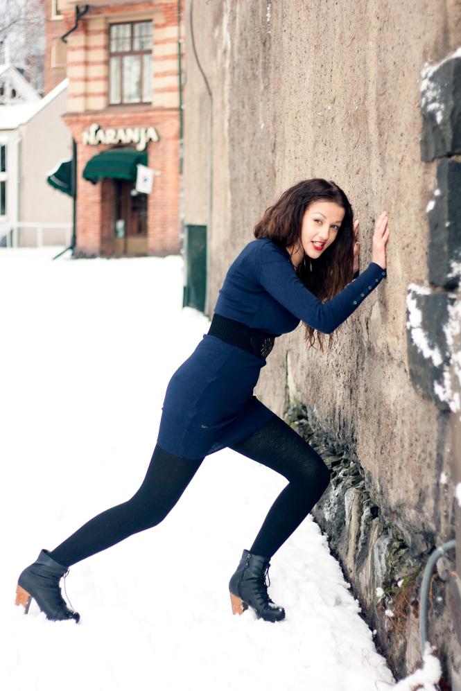 Kristina flyttar väggar